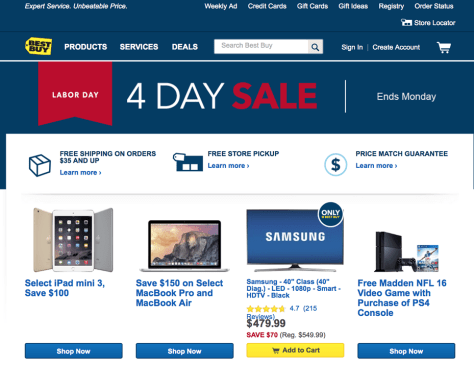 Best Buy Labor Day Sale 2015 - Page 1