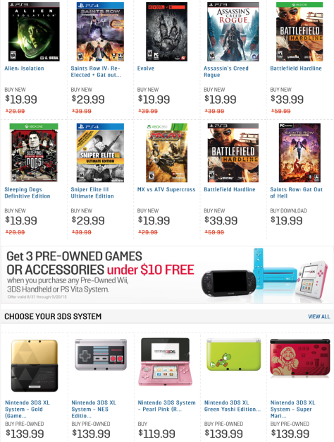 Gamestop Labor Day Sale 2015 - Page 4