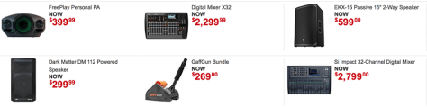 Guitar Center Labor Day Sale 2015 - Page 4