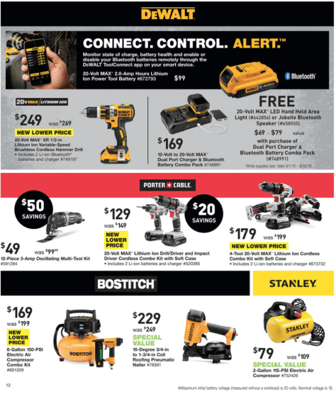 Lowes Labor Day Sale 2015 - Page 12