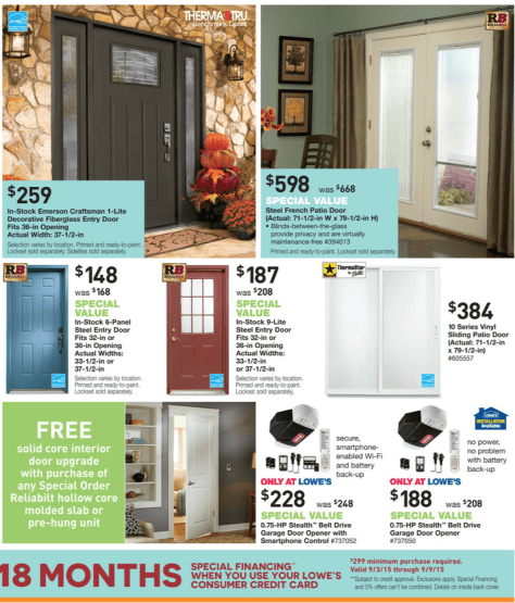 Lowes Labor Day Sale 2015 - Page 7