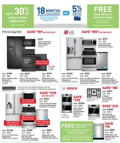 Lowes Labor Day Sale 2015 - Page 9