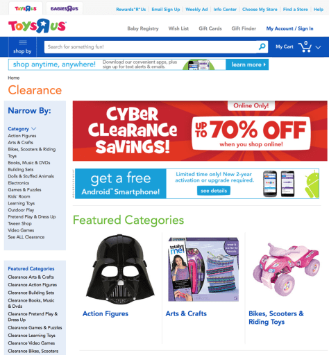 Toys R Us Labor Day Sale 2015 - Page 1