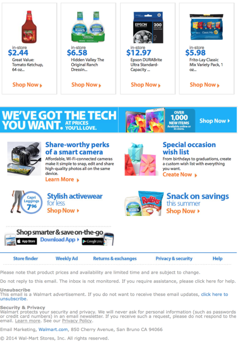 Walmart Labor Day Sale - Page 4