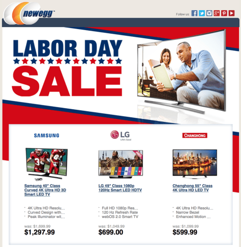 New Egg Labor Day Sale 2015 - Page 1
