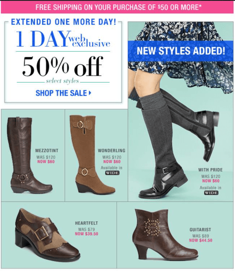 Aerosoles Cyber Monday Ad - Page 2
