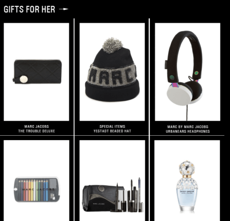 Marc Jacobs Black Friday Ad Scan - Page 4