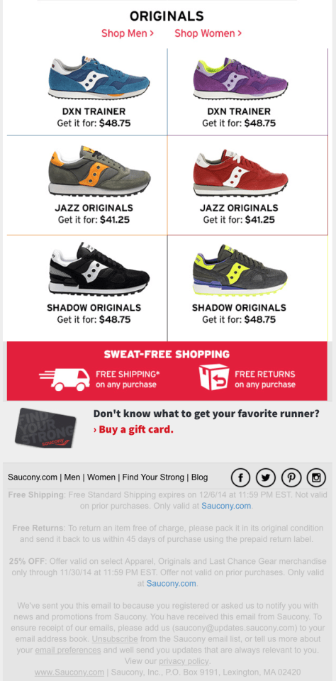 Saucony Black Friday Ad - Page 3
