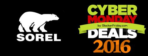 Sorel Cyber Monday 2016