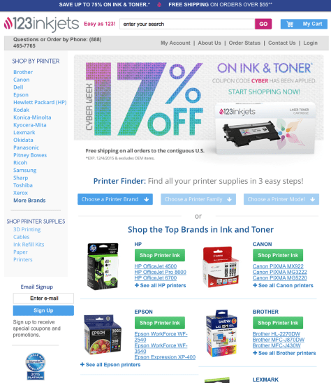 123inkjets Black Friday 2015 Ad - Page 2