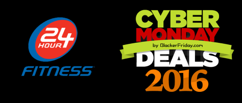 24 Hour Fitness Cyber Monday 2016