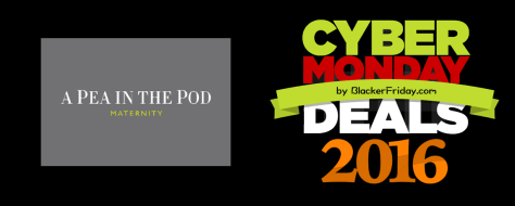 A Pea in The Pod Cyber Monday 2016