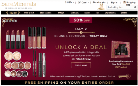 BareMinerals Black Friday 2015 Ad - Page 1