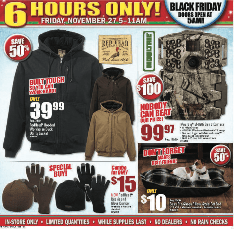 Bass Pro Shops Black Friday 2015 Ad - Page 3