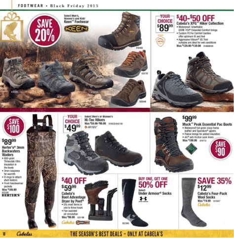 Cabelas Black Friday 2015 Ad - Page 18