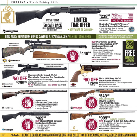 Cabelas Black Friday 2015 Ad - Page 6