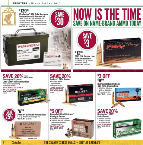 Cabelas Black Friday 2015 Ad - Page 8