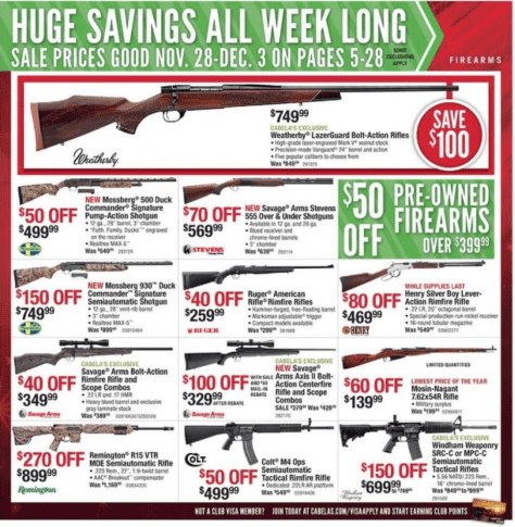 Cabelas Black Friday Ad - Page 5