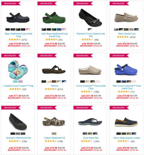 Crocs Black Friday 2015 Flyer - Page 3