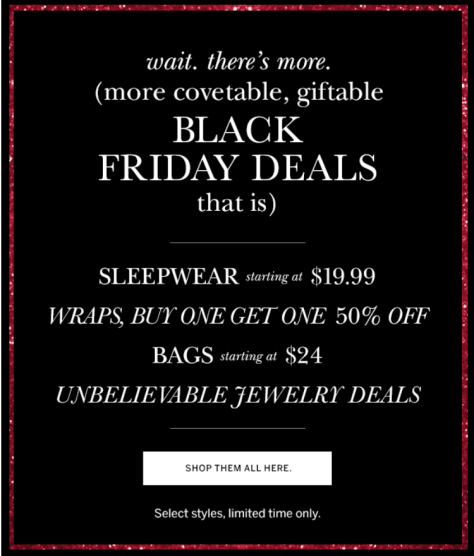 Dressbarn Black Friday 2015 Flyer - Page 4