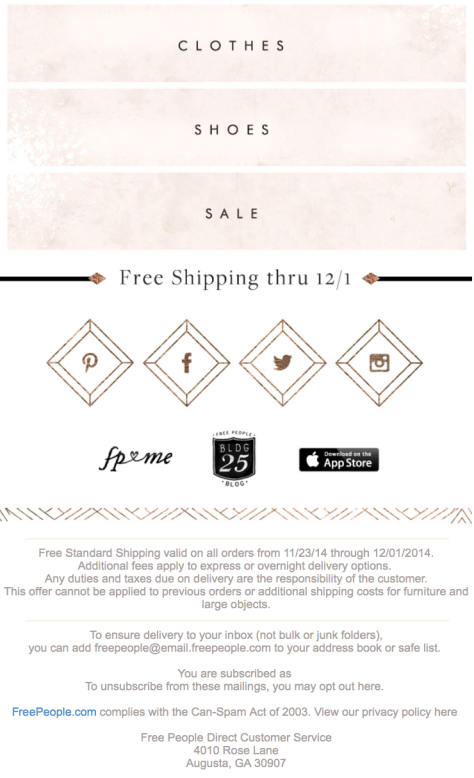 Free People Black Friday Ad - Page 7