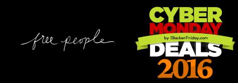 Free People Cyber Monday 2016