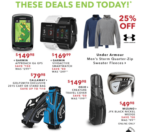 Golfsmith Cyber Monday 2015 Ad - Page 3