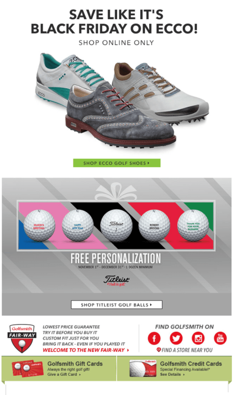 Golfsmith Pre Black Friday 2015 Ad - Page 4