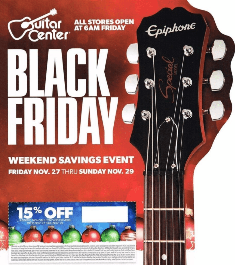 Gutiar Center Black Friday 2015 Ad - Page 1