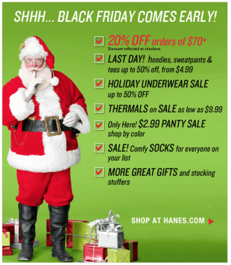 Hanes Black Friday Ad - Page 2