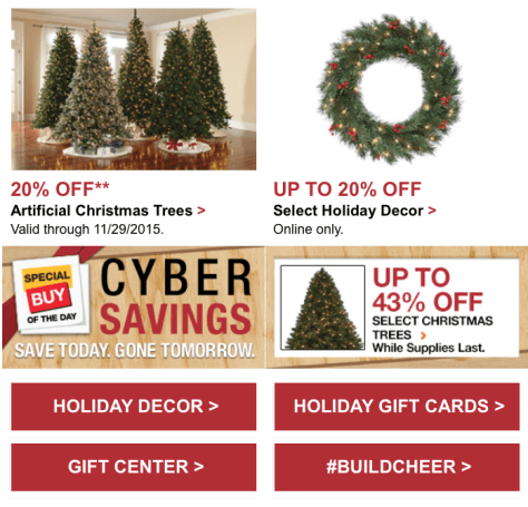 Home Depot Black Friday 2015 Flyer - Page 3