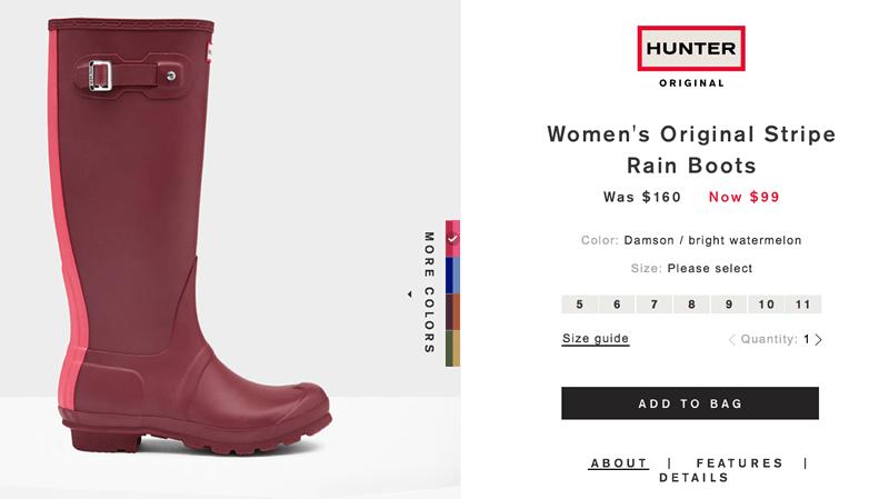 Hunter Boots Voucher & Promo Codes June 12222