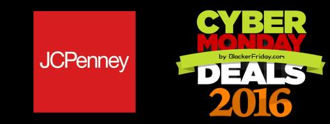 JC Penny Cyber Monday 2016