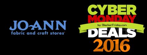 Joann Cyber Monday 2016