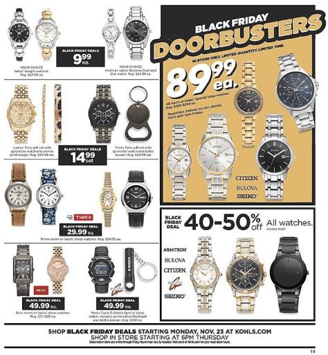 Kohls Black Friday 2015 Ad - Page 11