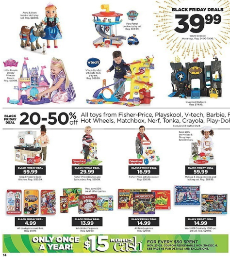 Kohls Black Friday 2015 Ad - Page 14