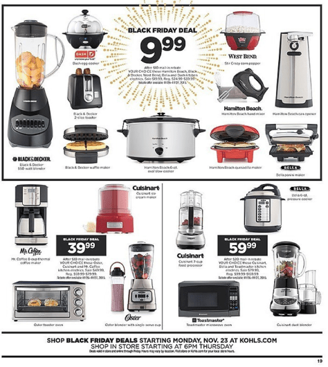 Kohls Black Friday 2015 Ad - Page 19