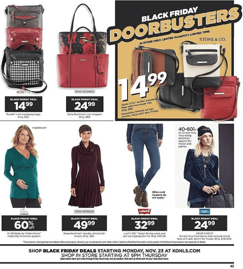 Kohls Black Friday 2015 Ad - Page 43