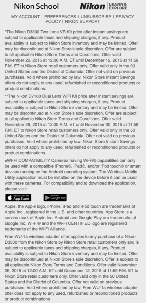 Nikon Cyber Monday 2015 Ad - Page 3