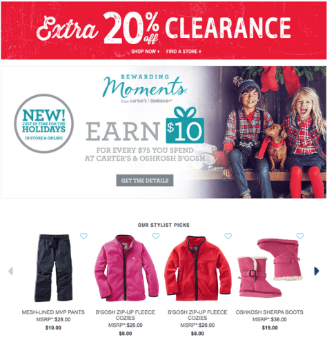 Osh Kosh Bgosh Black Friday 2015 Flyer - Page 6