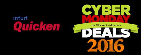 Quicken Cyber Monday 2016