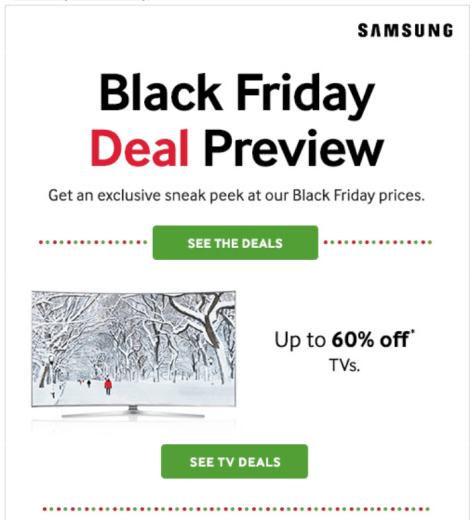 Sansung Black Friday 2015 Ad - Page 1