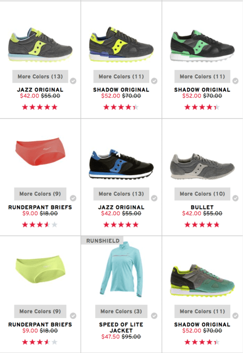 Saucony Black Friday 2015 Flyer - Page 3