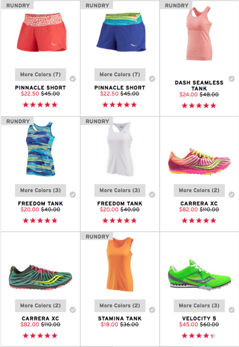 Saucony Black Friday 2015 Flyer - Page 4