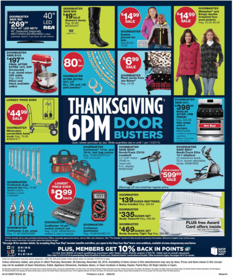 Sears Black Friday 2015 Ad - Page 33