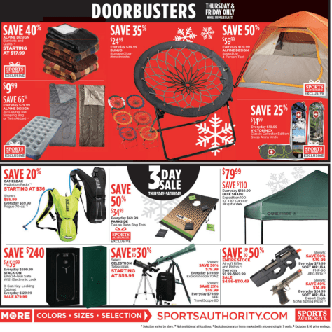 Sports Authority Black Friday 2015 Ad - Page 12