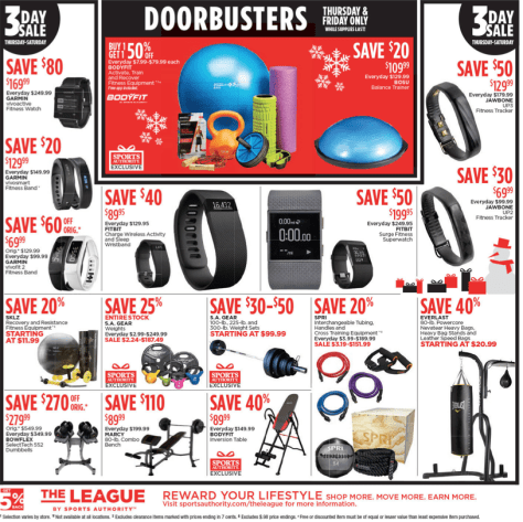 Sports Authority Black Friday 2015 Ad - Page 3