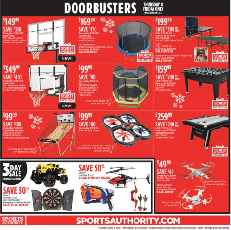 Sports Authority Black Friday 2015 Ad - Page 4