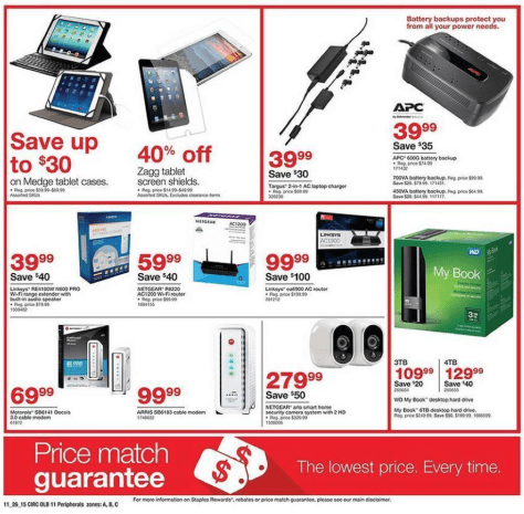 Staples Black Friday 2015 Ad - Page 19