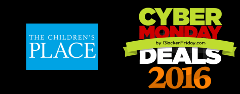 The Childrens Place Cyber Monday 2016
